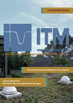 Portada Catálogo ITM Rehabilitación