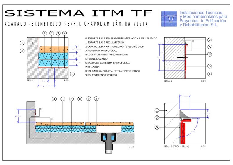 Foto detalle Sistema Transitable ITM Mixto